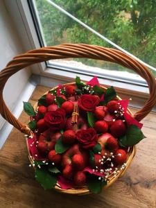 романтика в корзине