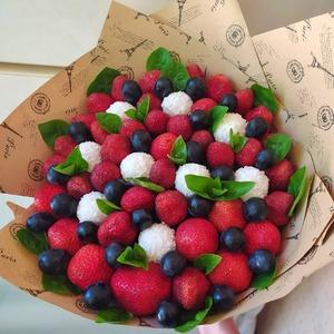 рафаэлло в ягодах